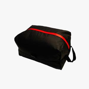마운틴로버 집색 L 40g 블랙 초경량 파우치 컴팩트한수납 레드 포인트 지퍼