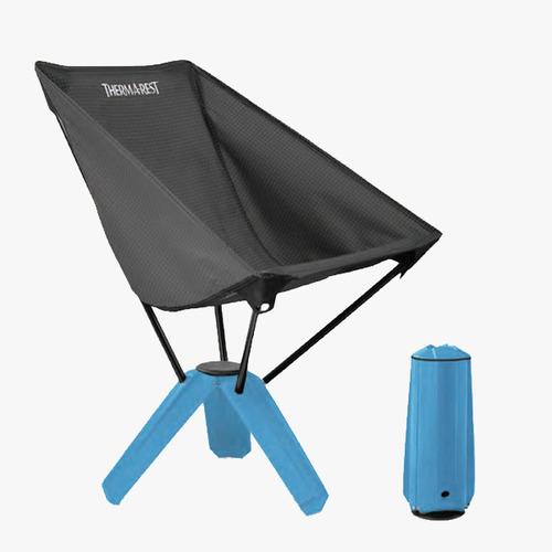 써머레스트 트레오체어 슬레이트/사파이어미니멀 캠핑이나 여행 시 이상적인 작은 수납 사이즈 쉬운 설치 방법과 안락한 구조의 체어 호상사 정품 A/S 가능