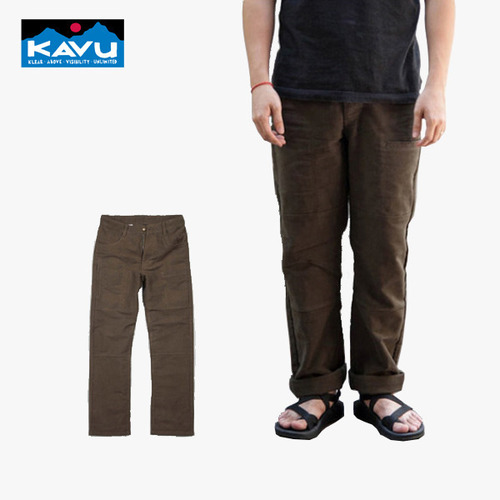 카부 KAVU 베이스캠프 팬츠 Base Camp Pant - Military Green