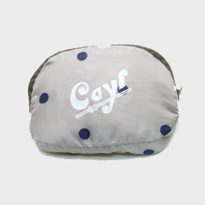 케일 CAYL CAYL POCKETABLE TOTE/ Blue Dot