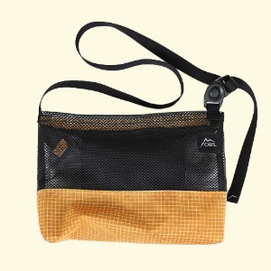 케일 CAYL Mesh Sacoche / Orange
