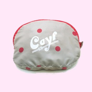 케일 CAYL POCKETABLE TOTE/ Pink Dot