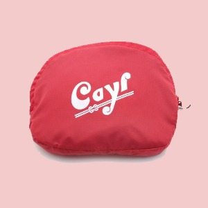 케일 CAYL POCKETABLE TOTE/ Red